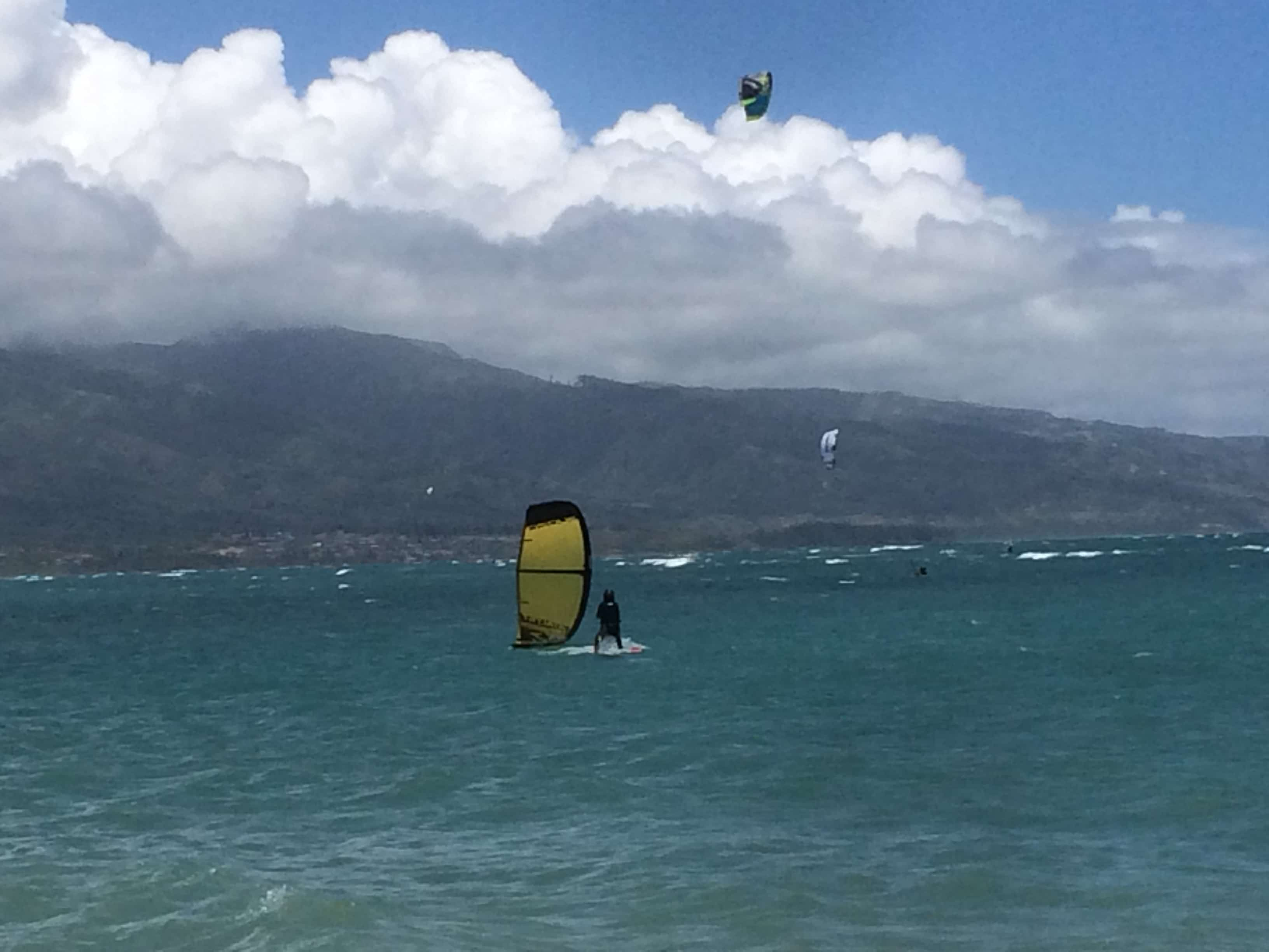 July/5/2018 Tanya kiteboarding lessons in Maui